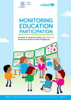 Cover image for the monitoring education participation 2017 report