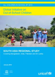 Cover image for the South Asia regional report 2014
